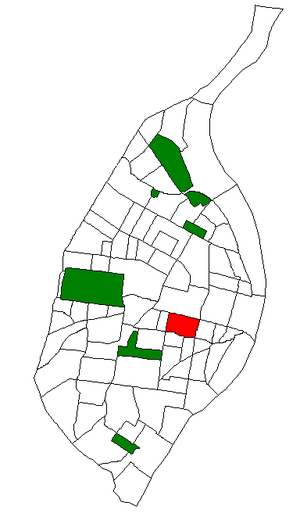 Gate District, St. Louis - Image: STL Neighborhood Map 31