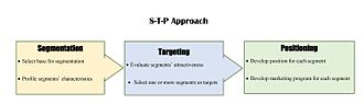 Market segmentation - The STP approach highlights the three areas of decision-making