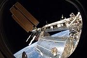 STS-119 EVA 3 Joseph Acaba