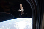 STS 135 ISS From Atlantis