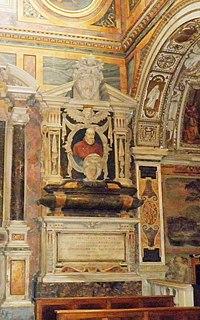 S Silvestro al Quirinale Epitaffio del Cardinale Federico Cornaro (1531-1590).jpg