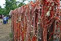 Sacred thread at Mundeshwari Devi.jpg