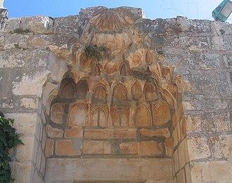Muqarnas - Image: Safed 79 n