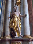 Saint Jerome. Altar of Saint Anthony of Padua. Church of Saint Francis. Listed ID 41. - Budapest.JPG