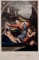 Saint Mary (the Blessed Virgin) with the Christ Child and Sa Wellcome V0033937.jpg