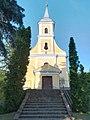 Saint Michael Roman Catholic church in Kapoly, Somogy County.jpg
