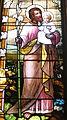 Saint Nicholas Catholic Church (Zanesville, Ohio) - stained glass, St. Joseph - detail.jpg