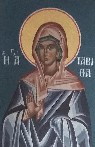 October 25 (Eastern Orthodox liturgics) - Image: Saint Tabitha