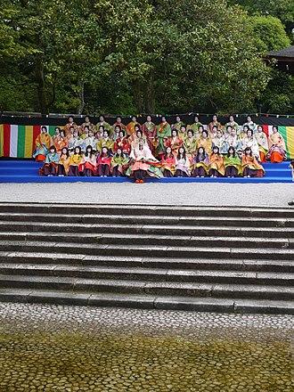 Aoi Matsuri - Saiō-Dai and women parade