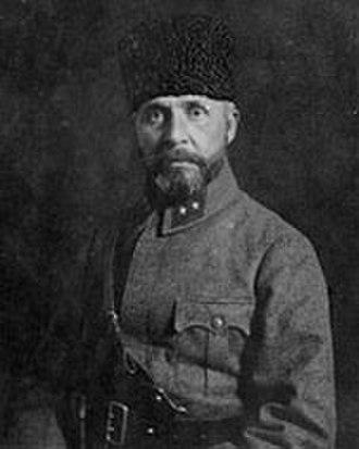 "Nureddin Pasha - Lieutenant general ""Sakallı"" Nureddin Pasha"