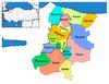 Districts of Sakarya
