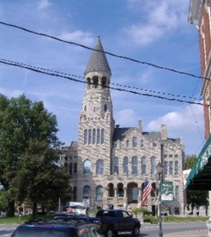 Salem, Indiana - Washington County Courthouse, in the town square