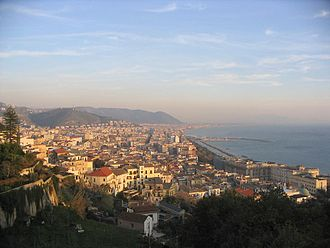 Salerno - Panorama of Salerno