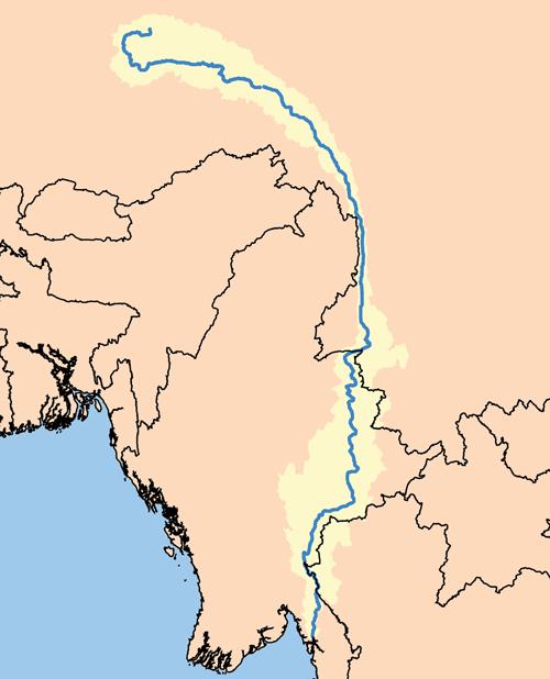 Salween watershed