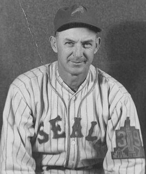 Pacific Coast League Hall of Fame - Image: Sam Gibson Seals
