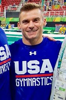 Sam Mikulak American gymnast