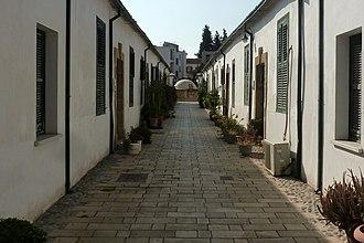North Nicosia - The historical Samanbahçe neighborhood in the İbrahimpaşa quarter