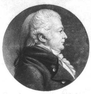 Samuel W. Dana - 1806 engraving by Charles Balthazar Julien Févret de Saint-Mémin.
