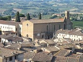 Sant'Agostino Church, San Gimignano