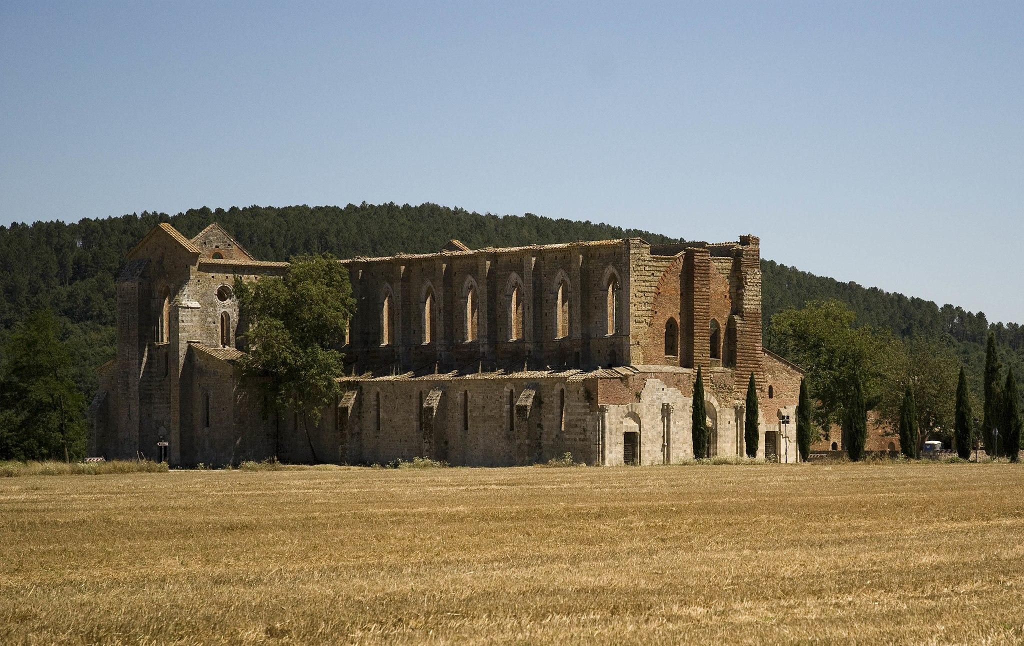 Panorama dell'Abbazia di San Galgano (Chiusdino)