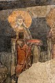 San lorenzo in insula, cripta di epifanio, affreschi di scuola benedettina, 824-842 ca., teoria di sei sante in costume bizantino, 10.jpg