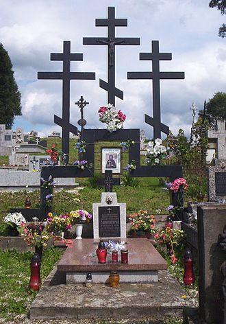 Zdynia - Grave of Maksym Sandowycz
