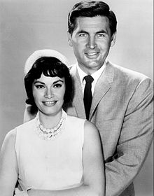 mr smith goes to washington  sandra warner and fess parker in the 1962 tv series