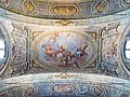 Santa Afra San Paterio che offre i suoi scritti a san Giovanni Battista Sante Cattaneo Brescia.jpg