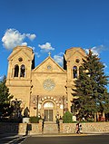 Santa Fe, New Mexico, USA - Cathedral Basilica of St. Francis of Assisi - panoramio.jpg