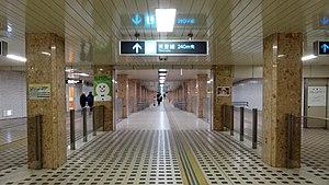 Sapporo Station (Sapporo Municipal Subway) - Image: Sapporo sta passageway