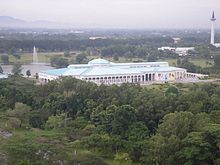 Picture of the Sarawak State Library.