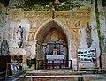 Sargé-sur-Braye Église Saint-Martin Innen Chorwand.jpg