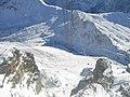 Sass Pordoi - Rifugio Maria 2995 m - View Passo Pordoi 2239 m,Belvedere, Canazei - panoramio.jpg