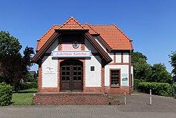 Saterland Scharrel Eisenbahnstraße Bahnhof 02 ies