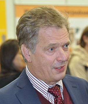 Finnish presidential election, 2012 - Image: Sauli Niinistö