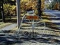 Saulkrasti, velosipēdu muzeja rādītājs. 2000-10-01 - panoramio.jpg