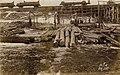 Saw mill at bridge building site for narrow gauge railway, 25 Jan1916.jpg