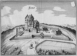Forstegg nach Merian 1630