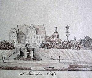 Thallwitz - Castle Thallwitz, 19th century