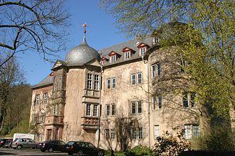 Wächtersbach - Castle of the House of Isenburg-Wächtersbach