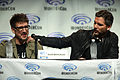 Scott Derrickson & Eric Bana (13950152584).jpg