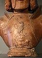 Scultore lombardo-veneto di ambito mantegnesco, busto di francesco II gonzaga, da casa arco fiera, 1500-20 ca. 02 aquila su trofeo d'armi.jpg