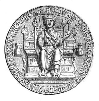 Isabella of France - Seal of Edward II