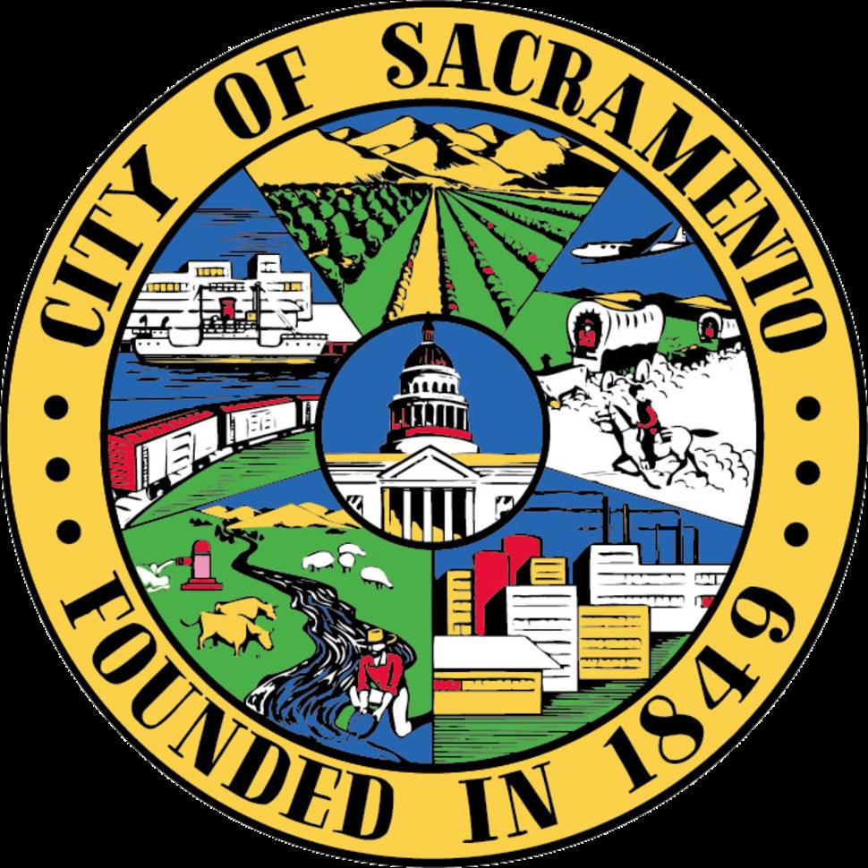 Official seal of Sacramento, California