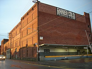 Georgetown, Seattle - Stock House of the brewery, now demolished