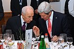 File:Secretary Kerry Speaks With Israeli President Peres in Davos (12116433205).jpg