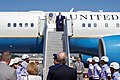 Secretary Kerry Steps Off His Airplane After Arriving at the Galeão International Airport in Rio de Janiero (28166332924).jpg