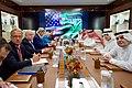 Secretary Kerry and His Team sit Across From Saudi Arabia Crown Prince Muhammad bin Nayef, Deputy Crown Prince, Mohammad bin Salman Al Saud, Foreign Minister Adel al-Jubeir (29100014202).jpg