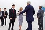 Secretary Kerry is Greeted by Ambassador Kennedy (26064758010).jpg