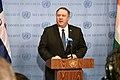 Secretary Pompeo Addresses the Press in New York (46855370892).jpg
